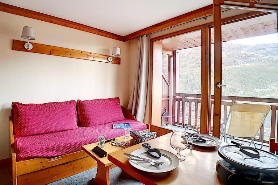 Vakantie in de bergen Appartement 2 kamers 4 personen (402) - Résidence les Valmonts - Les Menuires