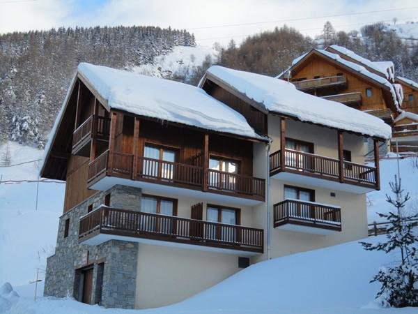 Holiday in mountain resort 2 room apartment 5 people (L12) - Résidence les Valmonts - Valloire