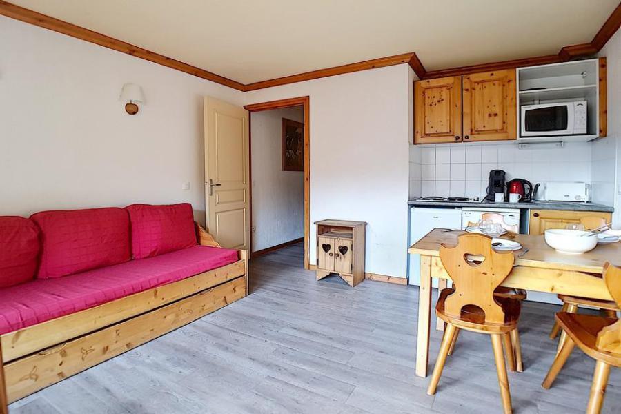 Vacaciones en montaña Apartamento 2 piezas para 4 personas (VM0013) - Résidence les Valmonts B - Les Menuires - Camas superpuestas