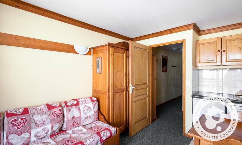 Аренда на лыжном курорте Квартира студия для 4 чел. (Confort 25m²-3) - Résidence les Valmonts - Maeva Home - Les Menuires - летом под открытым небом