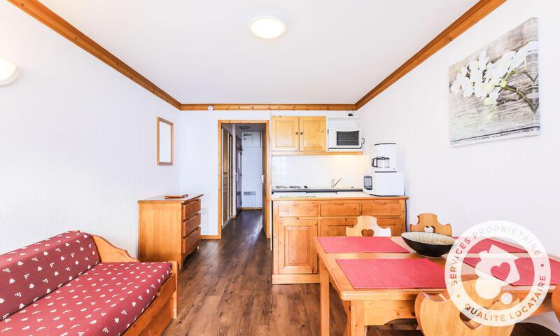 Аренда на лыжном курорте Апартаменты 2 комнат 4 чел. (Sélection 30m²-10) - Résidence les Valmonts - Maeva Home - Les Menuires - летом под открытым небом