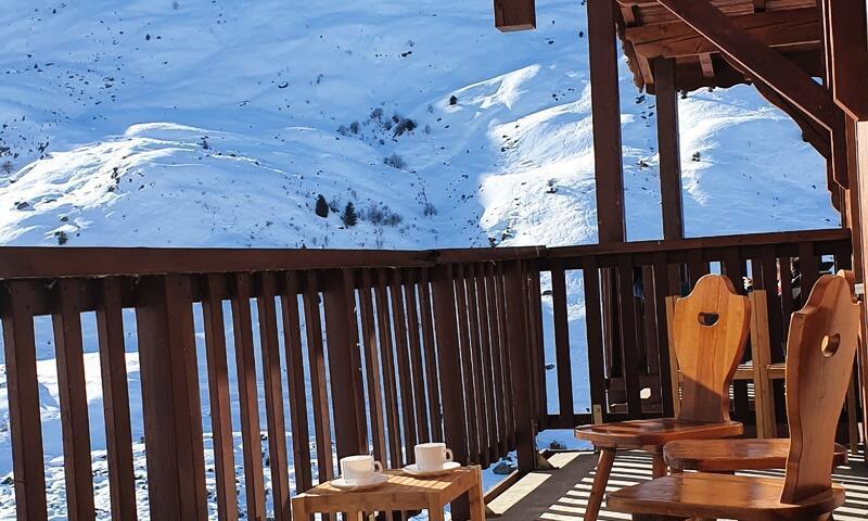 Аренда на лыжном курорте Апартаменты 4 комнат 8 чел. (Sélection 65m²-3) - Résidence les Valmonts - Maeva Home - Les Menuires - летом под открытым небом