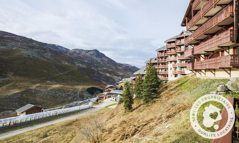 Wakacje w górach Apartament 3 pokojowy 6 osób (Confort 40m²) - Résidence les Valmonts - Maeva Home - Les Menuires - Na zewnątrz latem