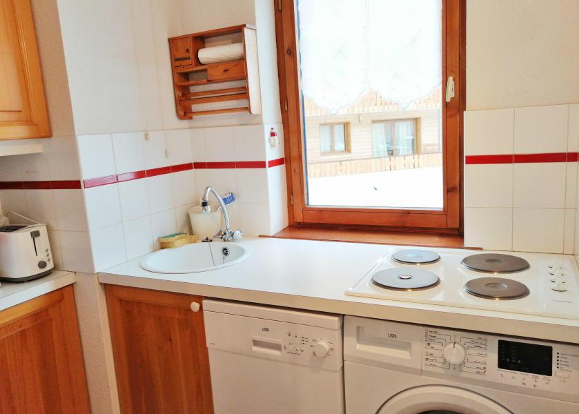 Vacaciones en montaña Apartamento 3 piezas para 6 personas (A01) - Résidence les Verdets - Morillon - Lavaropa