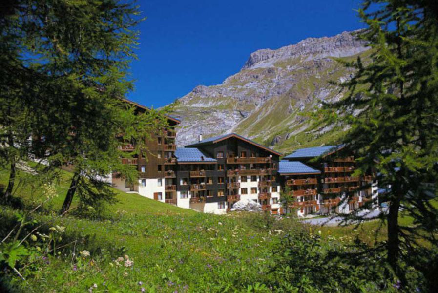 Vacances en montagne Résidence les Verdets - le Jardin de Val - Val d'Isère - Extérieur été