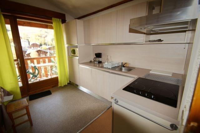 Vacaciones en montaña Apartamento cabina 2 piezas para 7 personas (9) - Résidence les Vernettes - Les 2 Alpes - Kitchenette