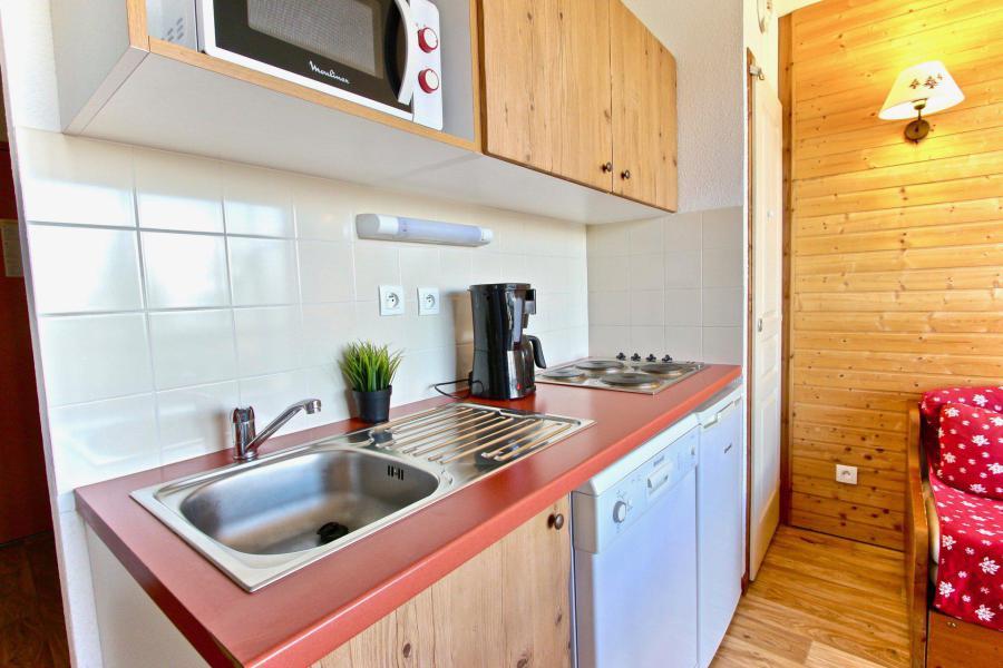 Vacances en montagne Appartement 3 pièces 6 personnes (01) - Résidence les Villages du Bachat Droseras - Chamrousse - Kitchenette