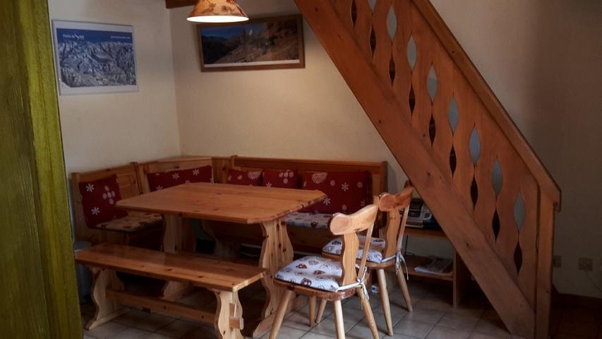 Vacaciones en montaña Apartamento 2 piezas mezzanine para 5 personas (15B) - Résidence les Voinettes - Châtel - Comedor