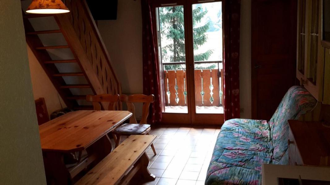 Vacaciones en montaña Apartamento 2 piezas mezzanine para 5 personas (15B) - Résidence les Voinettes - Châtel - Estancia