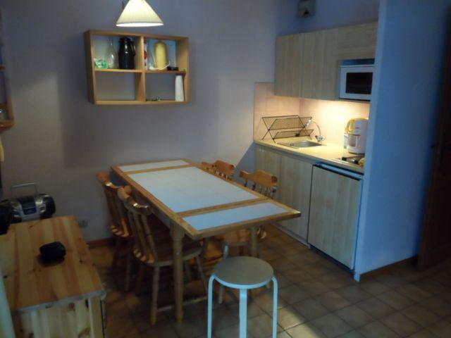 Vacaciones en montaña Apartamento cabina para 4 personas (06B) - Résidence les Voinettes - Châtel - Kitchenette