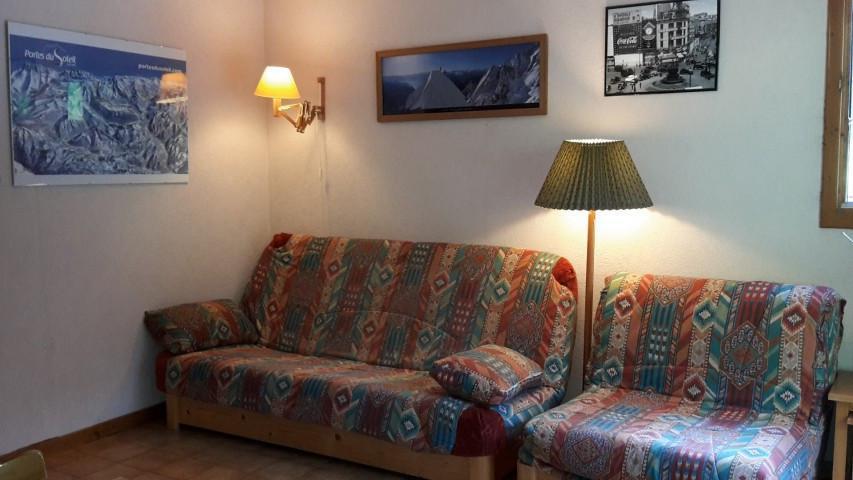 Vacaciones en montaña Apartamento cabina para 4 personas (06B) - Résidence les Voinettes - Châtel - Sofá-cama