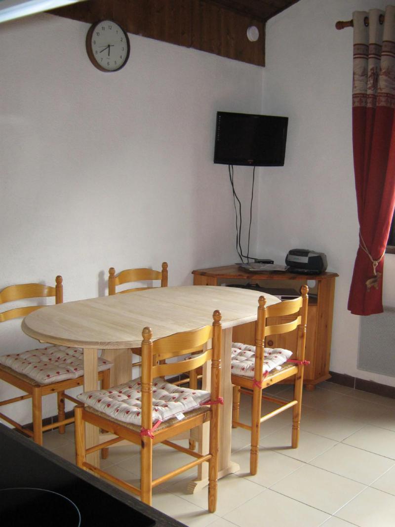 Vacaciones en montaña Apartamento cabina para 4 personas (28A) - Résidence les Voinettes - Châtel - Comedor