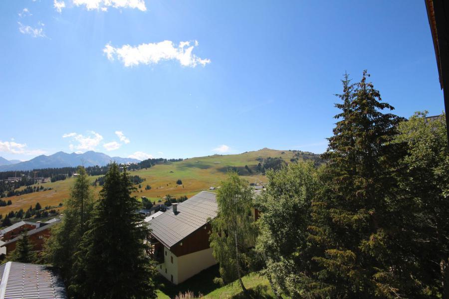 Каникулы в горах Апартаменты 3 комнат 6 чел. (021) - Résidence Lezette 1 - Les Saisies - летом под открытым небом