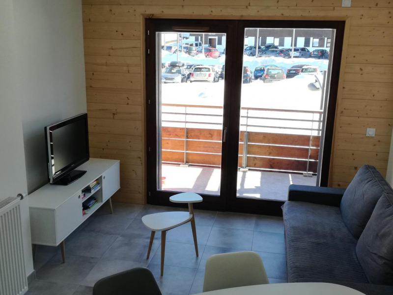 Каникулы в горах Апартаменты 2 комнат 6 чел. (A604) - Résidence Lodges 1970 - La Plagne - Салон