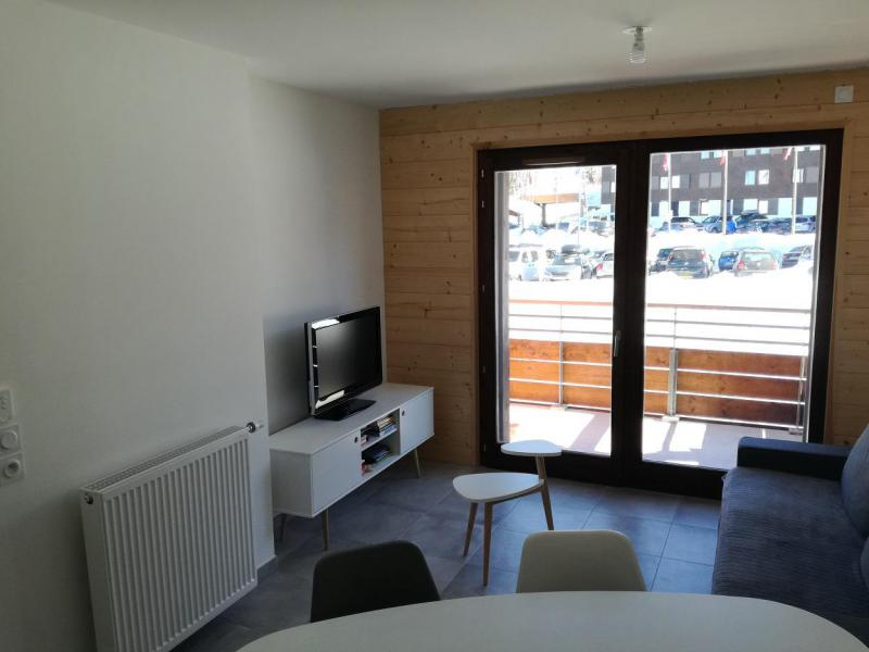 Каникулы в горах Апартаменты 2 комнат 6 чел. (A604) - Résidence Lodges 1970 - La Plagne - Телевизор