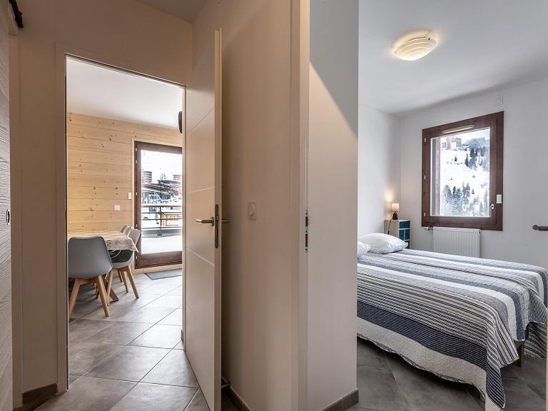 Wakacje w górach Apartament 3 pokojowy 6 osób (A405) - Résidence Lodges 1970 - La Plagne