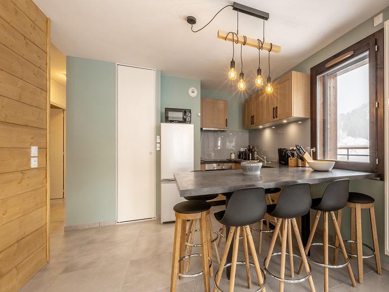 Wakacje w górach Apartament 4 pokojowy 8 osób (B502) - Résidence Lodges 1970 - La Plagne