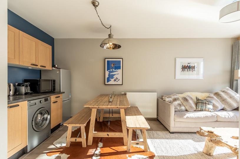Wakacje w górach Apartament 3 pokojowy 4 osób (B503) - Résidence Lodges 1970 - La Plagne