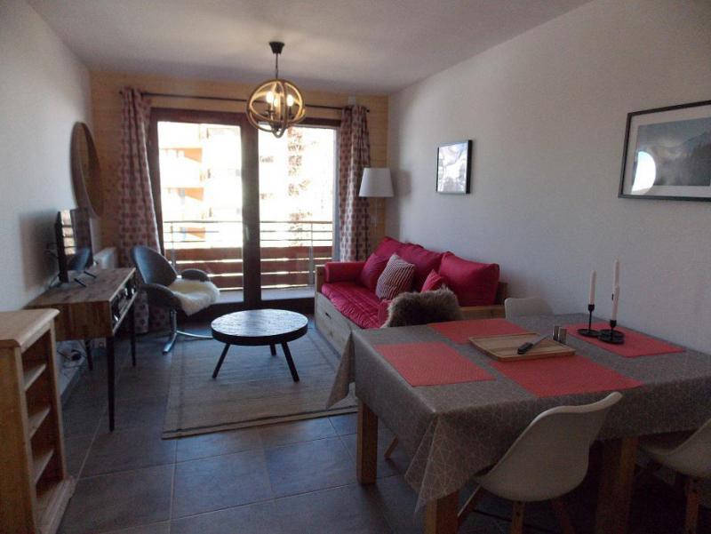 Wakacje w górach Apartament 2 pokojowy 4 osób (A401) - Résidence Lodges 1970 - La Plagne - Pokój gościnny