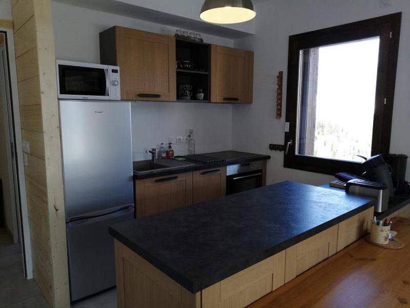 Wakacje w górach Apartament 3 pokojowy 6 osób (B302) - Résidence Lodges 1970 - La Plagne - Kuchnia