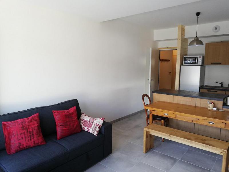 Wakacje w górach Apartament 3 pokojowy 6 osób (B302) - Résidence Lodges 1970 - La Plagne - Ławką