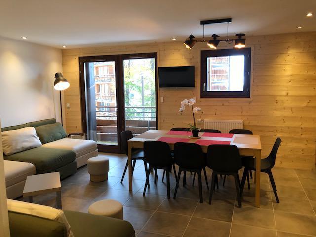 Wakacje w górach Apartament 4 pokojowy 8 osób (B304) - Résidence Lodges 1970 - La Plagne - Stołem