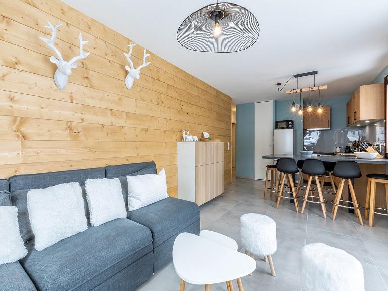 Wakacje w górach Apartament 4 pokojowy 8 osób (B502) - Résidence Lodges 1970 - La Plagne - Zakwaterowanie