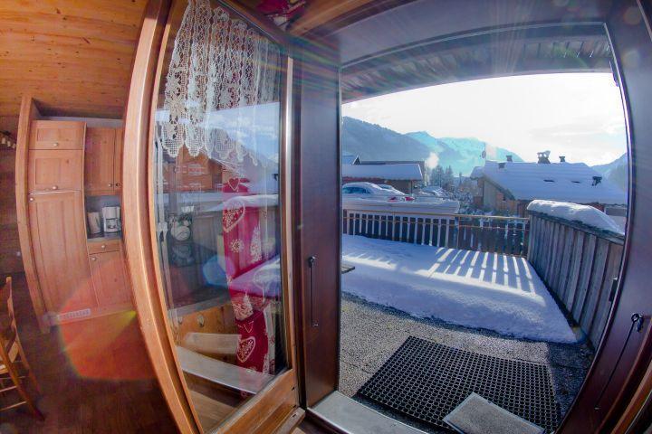 Vacaciones en montaña Apartamento 3 piezas para 7 personas (CAN004) - Résidence Lou Candres - Châtel - Balcón
