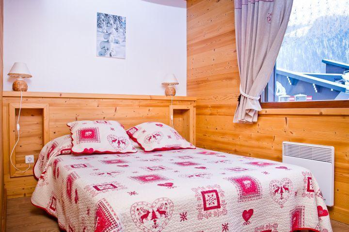 Vacaciones en montaña Apartamento 3 piezas para 7 personas (CAN004) - Résidence Lou Candres - Châtel - Cama doble