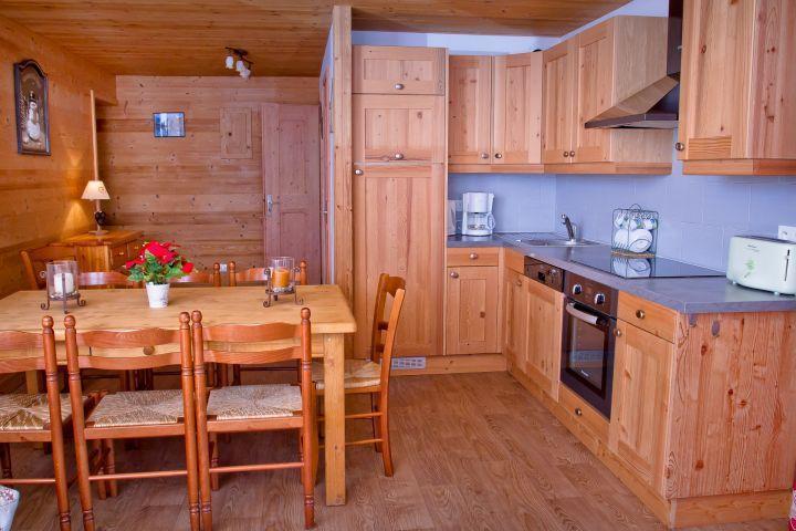 Vacaciones en montaña Apartamento 3 piezas para 7 personas (CAN004) - Résidence Lou Candres - Châtel - Kitchenette