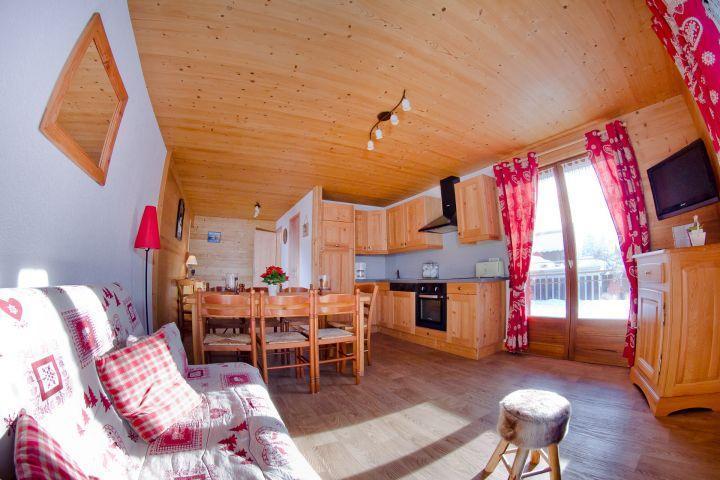 Vacaciones en montaña Apartamento 3 piezas para 7 personas (CAN004) - Résidence Lou Candres - Châtel - Mesa