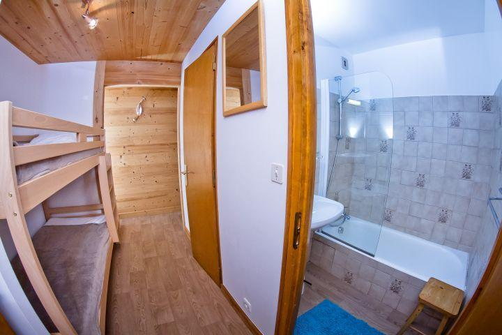 Vacaciones en montaña Apartamento 3 piezas para 7 personas (CAN004) - Résidence Lou Candres - Châtel - Rincón de sueño
