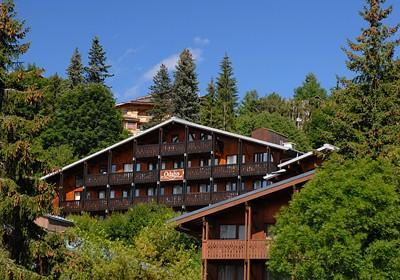 Location au ski Residence Lune Argent - Megève - Extérieur été