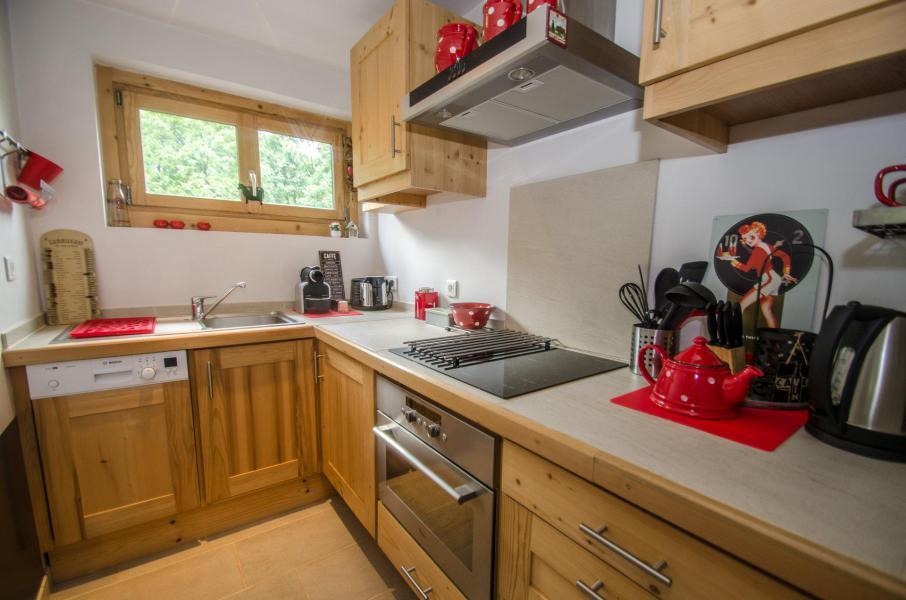 Vacances en montagne Appartement 3 pièces 5 personnes - Résidence Lyret 1 - Chamonix - Cuisine