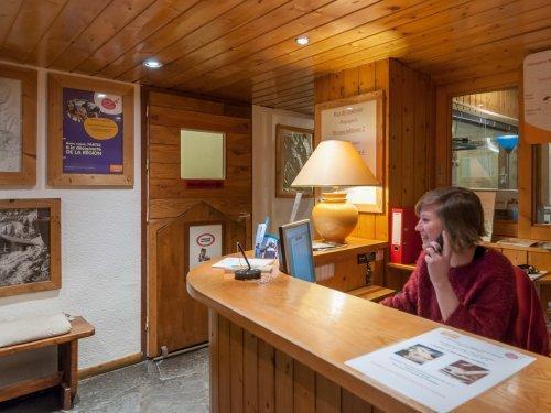 Vakantie in de bergen Résidence Maeva le Peillon - Méribel - Receptie