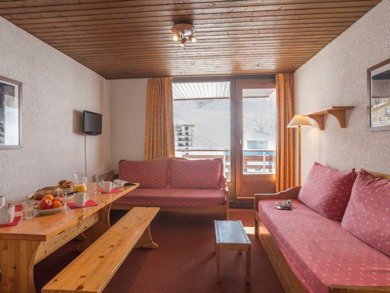 Holiday in mountain resort 2 room apartment sleeping corner 6 people - Résidence Maeva le Schuss - Val Thorens