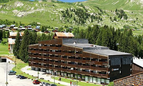 Location au ski Residence Maeva Les Mouflons I Et Ii - Le Praz de Lys - Extérieur été