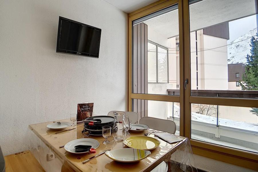 Urlaub in den Bergen 1-Zimmer-Holzhütte für 5 Personen (63) - Résidence Mélèzes - Les Menuires