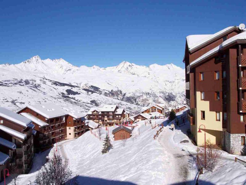 Location au ski Studio cabine 4 personnes (419) - Résidence Michailles - Peisey-Vallandry - Extérieur été