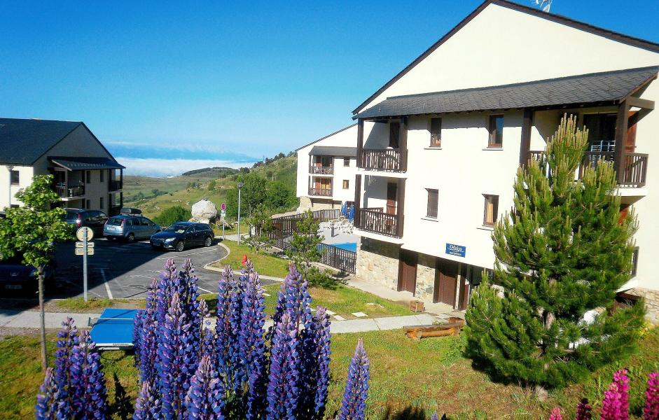 Location au ski Résidence Mille Soleils - Font Romeu - Extérieur été