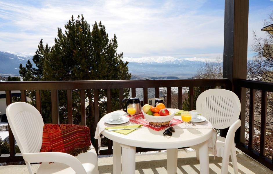 Urlaub in den Bergen Résidence Mille Soleils - Font Romeu - Balkon