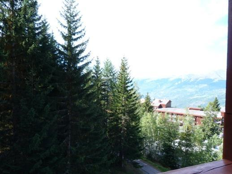 Location au ski Studio mezzanine 5 personnes (224) - Résidence Mirantin 2 - Les Arcs - Extérieur été