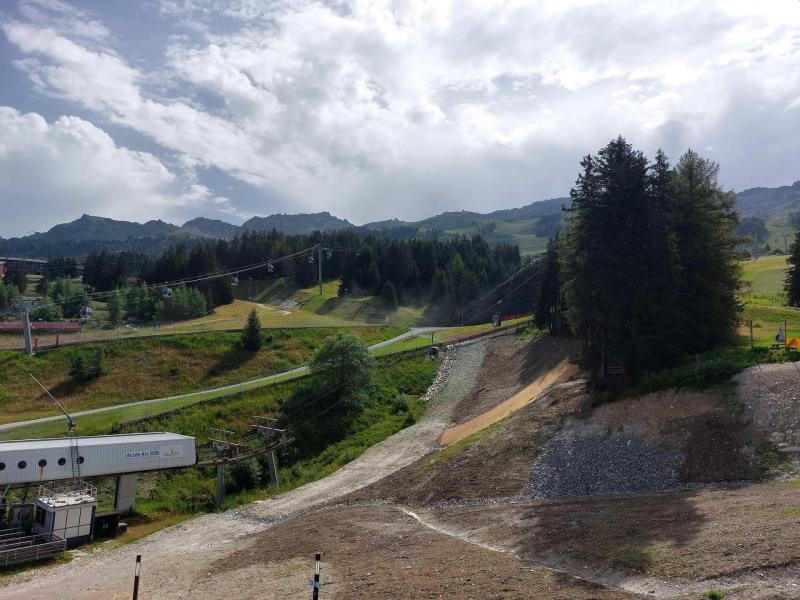 Location au ski Studio mezzanine 3 personnes (236) - Résidence Mirantin 2 - Les Arcs - Extérieur été