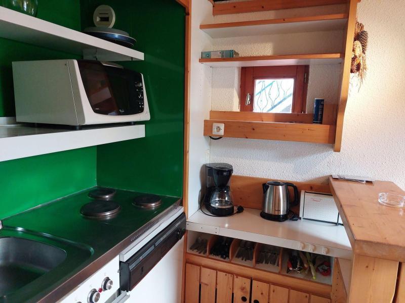 Vacances en montagne Studio mezzanine 3 personnes (236) - Résidence Mirantin 2 - Les Arcs - Jardinet