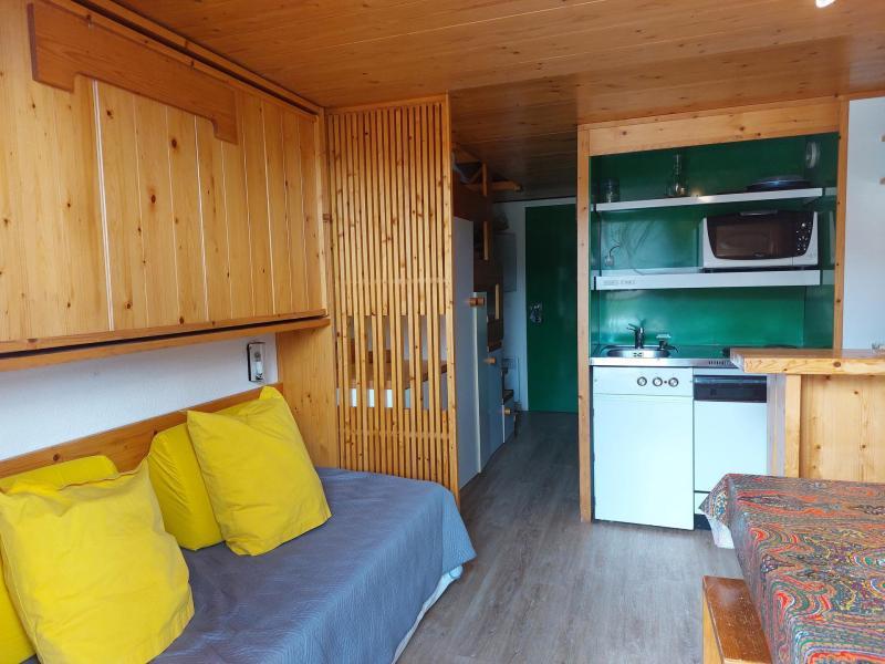 Vacances en montagne Studio mezzanine 3 personnes (236) - Résidence Mirantin 2 - Les Arcs - Séjour
