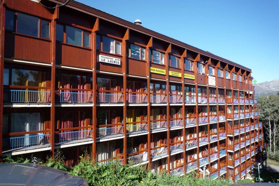 Vacances en montagne Résidence Miravidi - Les Arcs - Extérieur été