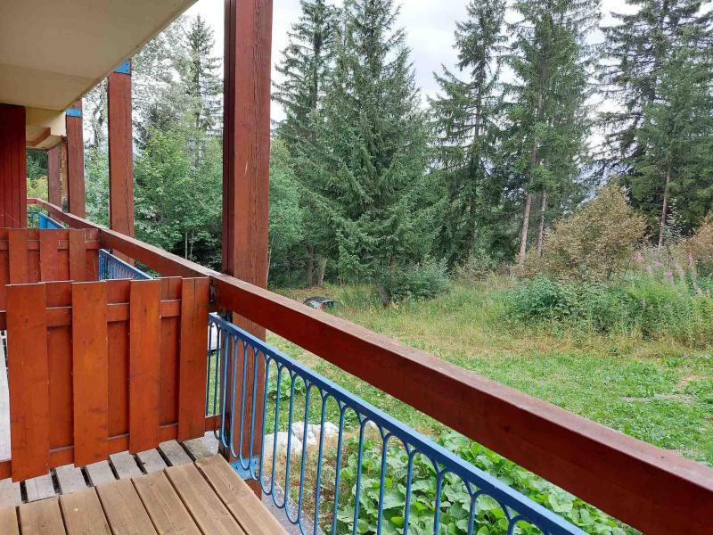 Vacances en montagne Studio coin montagne 4 personnes (106) - Résidence Miravidi - Les Arcs - Extérieur été