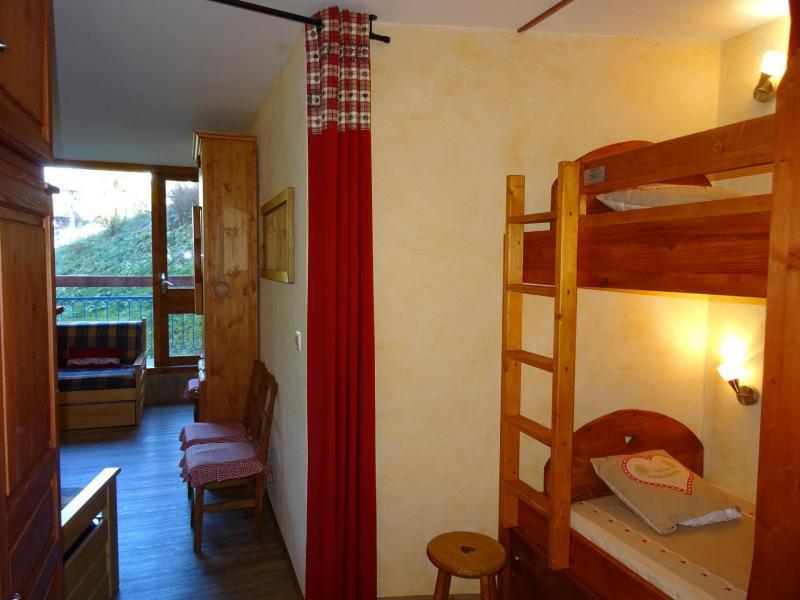 Vacances en montagne Studio coin montagne 4 personnes (428) - Résidence Miravidi - Les Arcs - Chambre