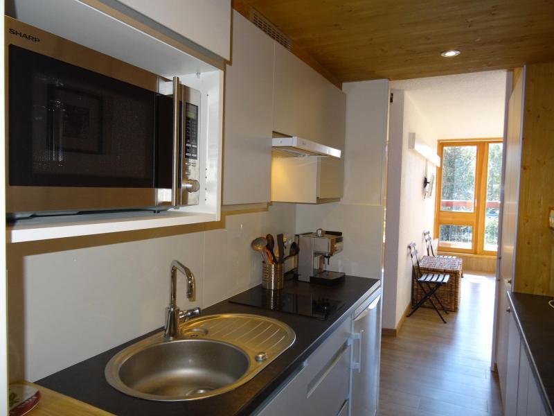 Vacances en montagne Studio coin montagne 4 personnes (503) - Résidence Miravidi - Les Arcs - Cuisine