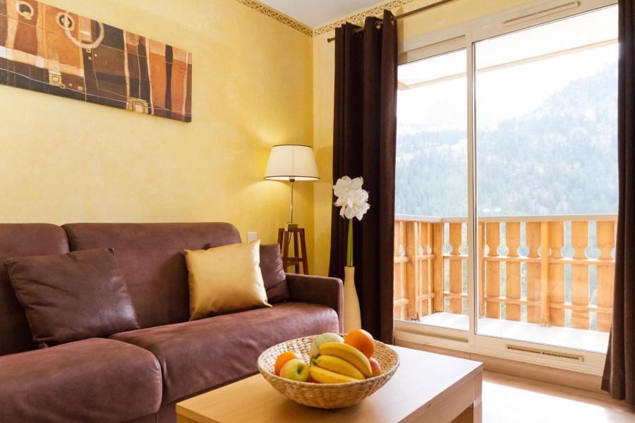 Urlaub in den Bergen Résidence MMV les Terrasses d'Isola - Isola 2000 - Wohnzimmer